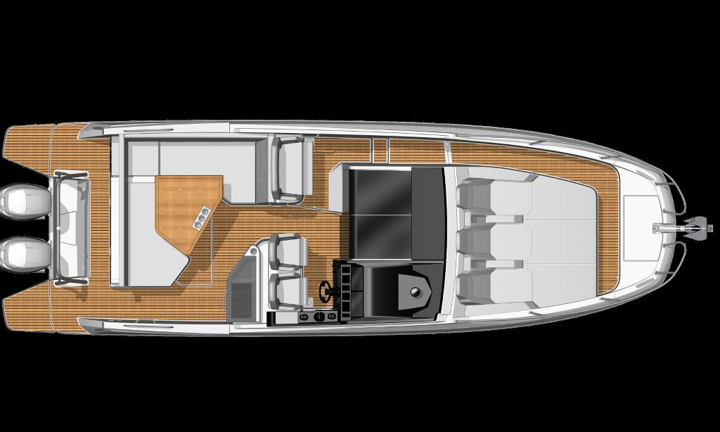 Beneteau GT32 Drawing (2)