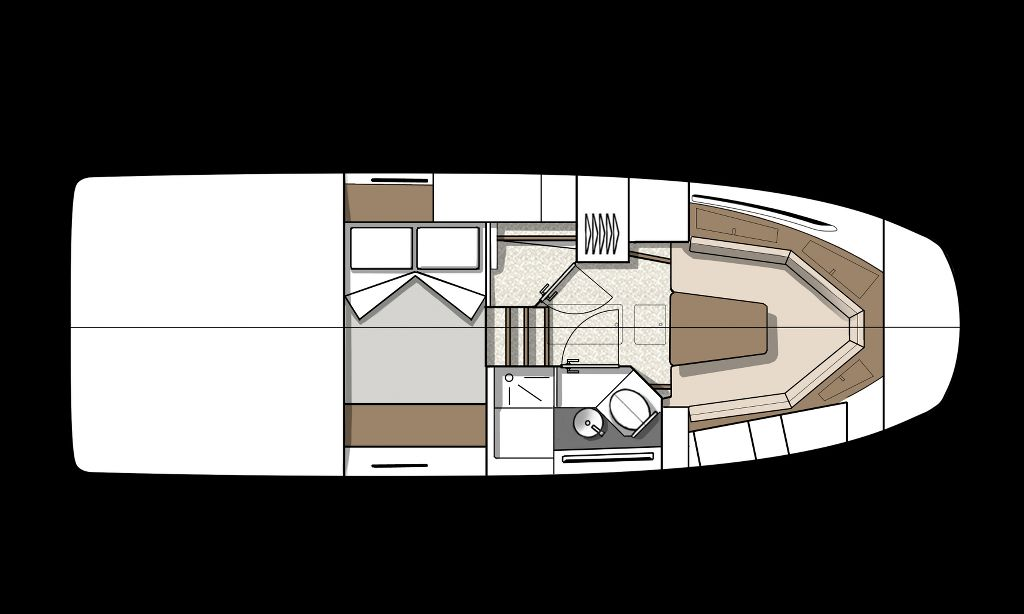Beneteau GT32 Drawing (5)